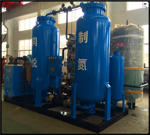 300 Nm3/H Purity 99.9% High Pressure Industrial Nitrogen Generation Unit Gas Purging In Oil / Gas Industry Field