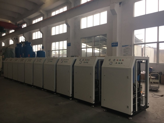 Cina Low Dew Point Mobile Nitrogen Gas Generator For Food Industry 10Nm3/H High Purity 99% pabrik