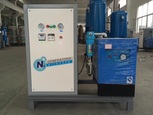 Cina High Purity 99.9% Small Psa Nitrogen Generation System For Food Industry pabrik